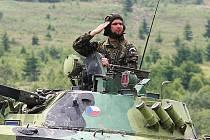 Jubilejní Den pozemního vojska - Bahna 2009.
