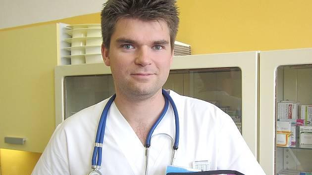 Internista příbramské nemocnice MUDr. Josef Šírek.