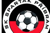 Logo SK Spartak Příbram.