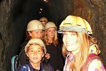 Hornické muzeum Příbram, důl Anna.