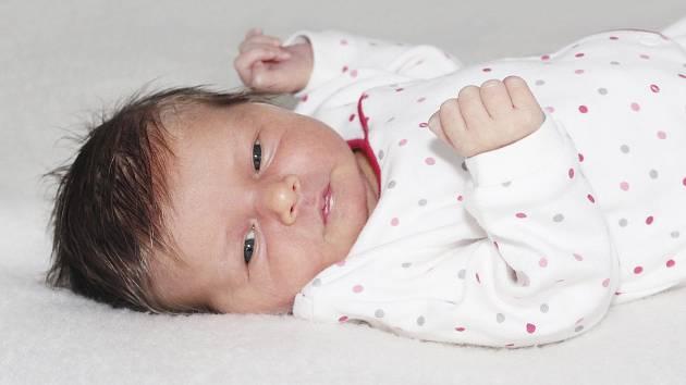 Melanie Bláhová se narodila 26. září 2019 s váhou 3150 g a výškou 49 cm Benjaminovi a Veronice z Příbrami.