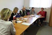 V Krásné Hoře nad Vltavou se volby odehrávaly v příjemné atmosféře.