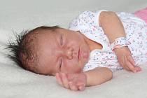 Klaudie Kutláková, Praha, narozená 22.8., 3900 g, 53 cm, rodiče Eliška a Martin, sestra Karlička 1,5 roku.