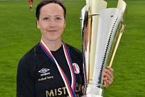 Fotbalistka Veronika Pincová.