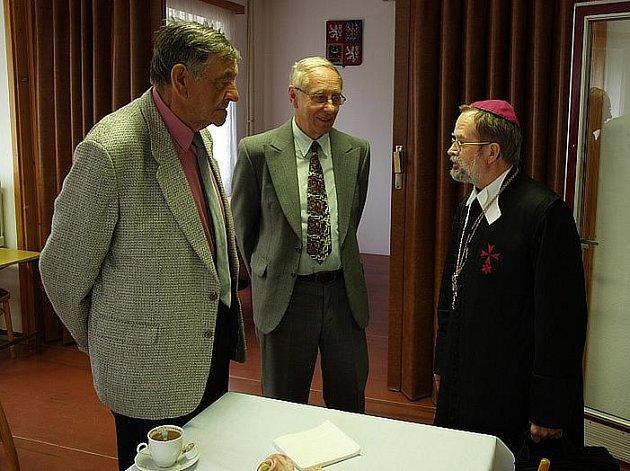 Již osmnácté setkání bývalých příslušníků pomocných technických praporů (PTP) se konalo 9. září v Zaječově - Svaté Dobrotivé.
