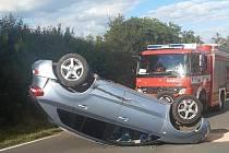 Nehoda u Třebska.