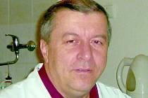 Chirurg příbramské nemocnice Jaroslav Kliment.