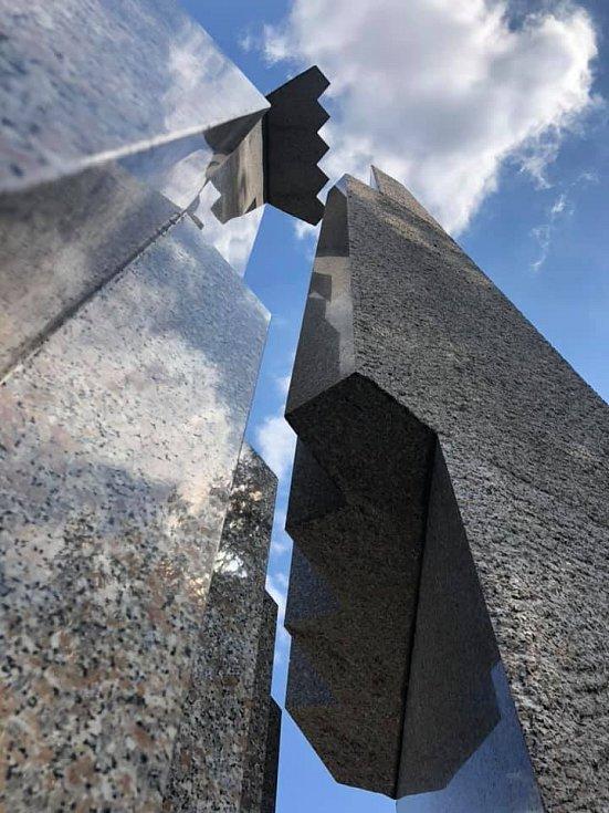 Památník Milín/Slivice a poslední výstřely II. světové války v noci z 11. na 12. května 1945.