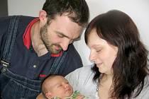 Ve čtvrtek 11. dubna maminka Petra a tatínek Jiří z Příbrami poprvé sevřeli v náručí svého prvorozeného syna Jiřího Šmatláka, který v ten den vážil 4,19 kg a měřil 52 cm.