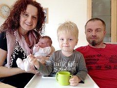 Kateřina Králíková (3, 620 kg,  51 cm) se narodila ve středu 10.září ve 13.28 rodičům Pavle a Martinovi Králíkovým z Prahy Kunratic. Doma ji přivítal dvouletý bratříček Matěj a také pes a kočka.