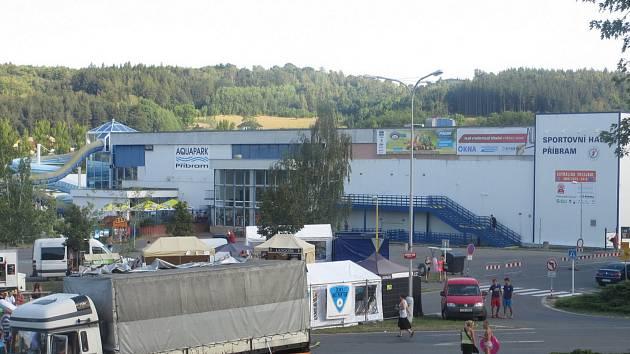 Příbramský aquapark.