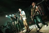 Rocková kapela Schodiště.