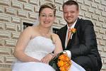 Marie  Sűsmilichová a Pavel Jirák si řekli svoje ano na zámku v Březnici. Svatební obřad se konal v sobotu 26. června v 11 hodin.