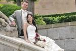 Iva Homolková a Karel Nájemník si řekli svoje ano 26. června. Svatební obřad se konal v sobotu 26. června v  11.30 hodin v Zrcadlovém sále dobříšského zámku.