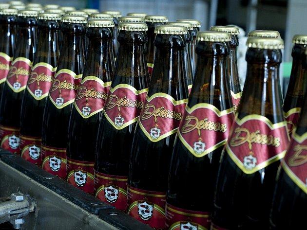 Pivní speciál Démon z Pivovaru Vysoký Chlumec.