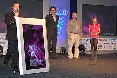 Vyhlašování ankety Nejúspěšnější sportovec roku 2011 v Příbrami
