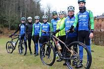Příbramští cyklisté zahájili přípravu na nadcházející sezonu.