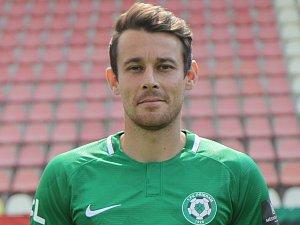 Záložník 1. FK Příbram Filip Hlúpik.
