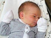 Matyáš Fousek se narodil 5. prosince s váhou 4,04 Zoře a Martinovi z Podlesí.