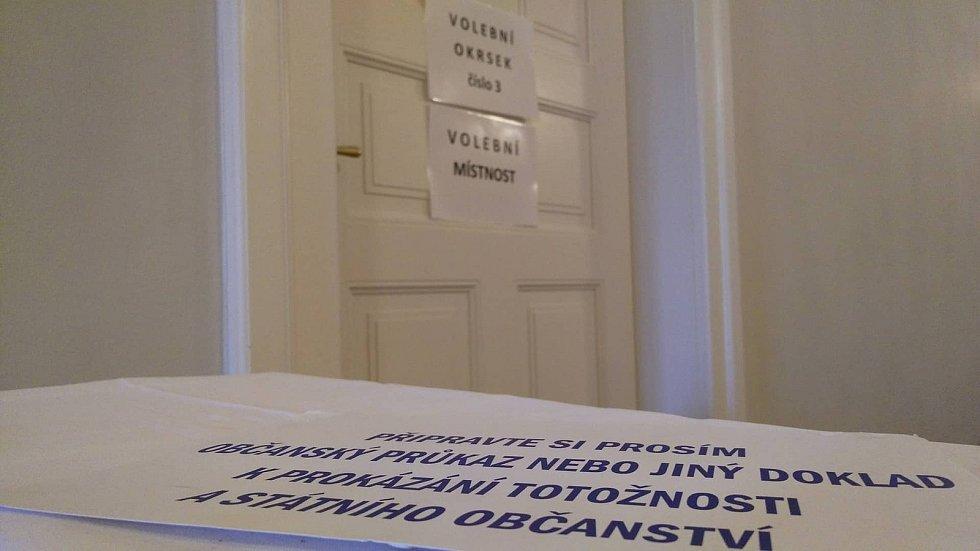 Volby na Příbramsku.