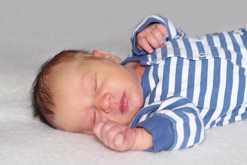 Marek Klečka z Modřovic, narozený 11.ledna 2019 rodičům Pavlovi a Markétě s váhou 3270 g  a mírou 50 cm.