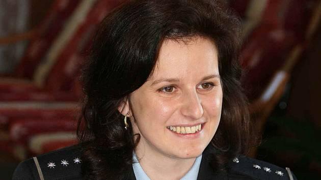 Mluvčí Okresního ředitelství Policie České republiky Monika Schindlová