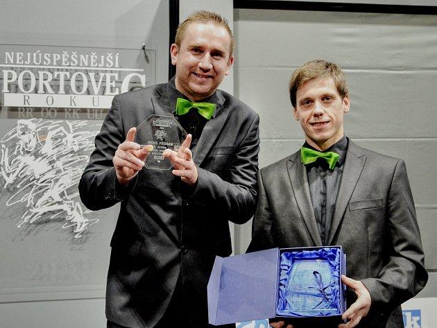 Nejúspěšnější sportovec Příbramska roku 2014. Hasiči Drtič Bezděkov pod Třemšínem - 3. místo v kategorii kolektivů nad 18 let a Hvězda Deníku.