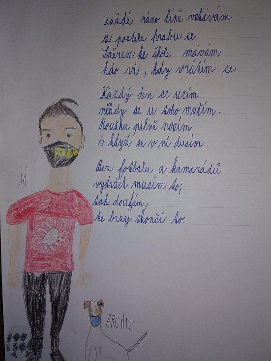 Báseň D. Zoula z třídy 3.B Základní školy Sedlec-Prčice.