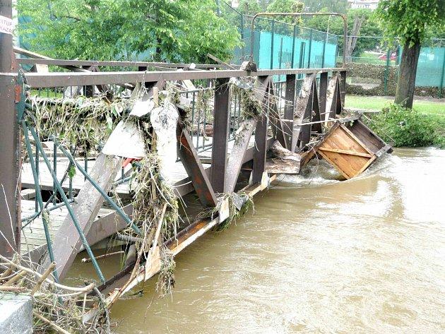 Povodeň v Sedlčanech.