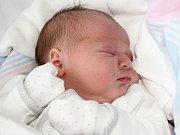 Magdaléna Uzlová se narodila 5. listopadu s váhou 3,62 a mírou 50 cm Monice a Martinovi z Obecnice.