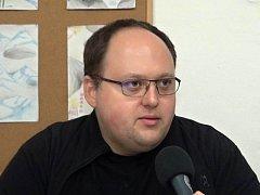 Vedoucí příbramského střediska skautů Stanislav Vojíř