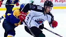 Přípravné hokejové utkání IHC Písek - HC Příbram 4:5.