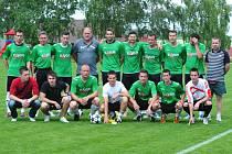 TJ Sokol Nová Ves pod Pleší po posledním zápase sezony 2012/13.