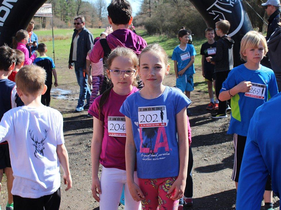 Dobříš - Hezké slunečné počasí vylákalo běžce a ti si zazávodili v sobotu 14. dubna v Dobříši.