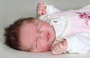 Sofie MUSILOVÁ se narodila 22.dubna s váhou 4,1 kg a mírou 53 cm rodičům Lence a Ondrovi z Příbrami. Doma čeká bráška Dominik (2).