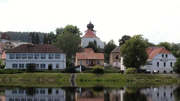 Kamýk nad Vltavou.