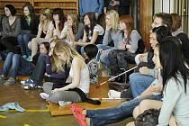 Den proti násilí a kriminalitě na Gymnáziu Příbram