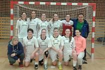 Vítězné družstvo futsalového turnaje v Kladně - 1.FK Příbram.