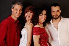 Škampovo kvarteto – zleva Radim Sedmidubský, Daniela Součková, Helena Jiříkovská, Lukáš Polák