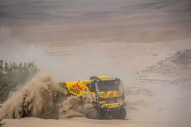 Druhá část Dakaru 2018 začala maratonskou etapou. Foto: Big Shock Racing tým