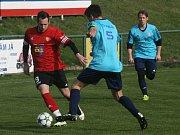 Z utkání OP Příbramska: Milín - Rosovice (2:2).
