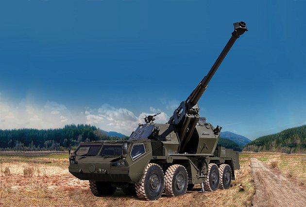 V týdnu vláda schválila modernizaci houfnic DANA a také nákup raketových kompletů RBS-70NG pro strakonickou posádku. Na obrátku je houfnice Dana po modernizaci.