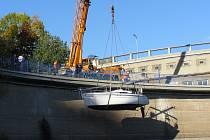 Povodí Vltavy opět nabízí lovení lodí z Orlíku