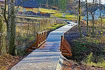 Lávka u rybníku Kaňka je součástí posledního ze tří vítězných projektů loňského participativního rozpočtu.