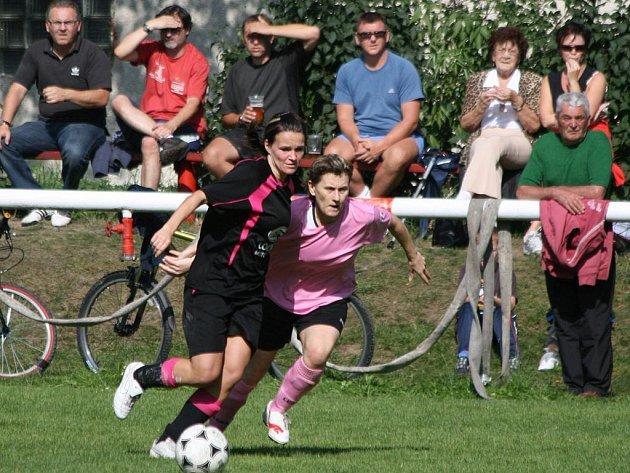 2. liga žen: Příbram - Mladá Boleslav (0:1).