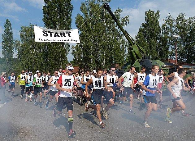 Běžecká liga v Jincích.