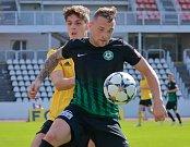 Utkání FNL Olympia Praha - 1. FK Příbram 2:2.