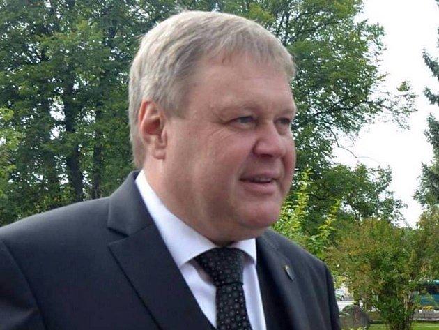 Petrovický starosta Petr Štěpánek.