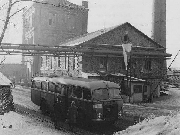 Důl Vojtěch vroce 1959.