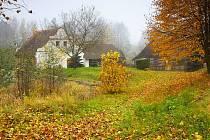 MLÝN v Brodě zlatě září barvami podzimu.